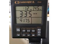 Concept 2 Model C Rower with PM2 Monitor