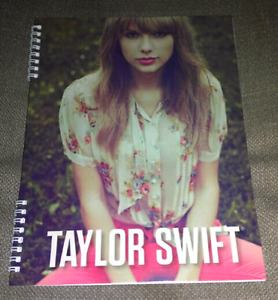Official Taylor Swift spiral notebook 2012