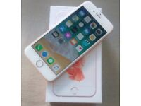 I phone 6s rose gold 32gb in good condition