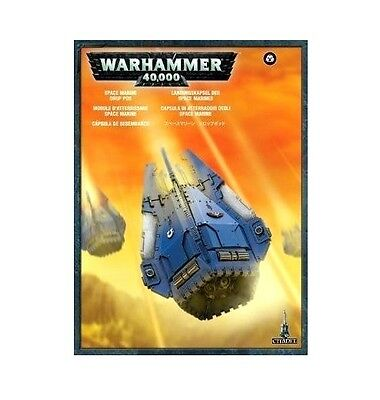 Brand-NEW: Space Marines DROP POD -Games Workshop Warhammer 40K-Lowest Price!