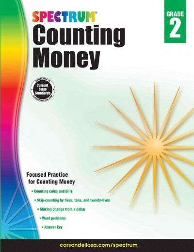 Counting Money, Grade 2, Paperback by Spectrum (COR); Carson-Dellosa Publishi...