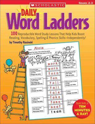 Daily Word Ladders Grades 2-3, Paperback by Rasinski, Timothy V., Brand New, -
