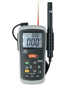 Infrared Thermometers www.microinstruments.ca Humidity Temperature Thermometer Professional Calibrated Instrument