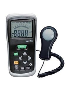 Light Meters / Lux Meters www.microinstruments.ca Solar Power Sunlight Digital Meter Professional Calibrated Instruments