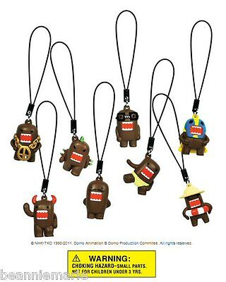 Domo Danglers Party Favors    Set Of 8 Different Figures Approx 1  Tall