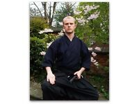 Private Martial Arts/Self-Defence/Japanese Sword Lessons
