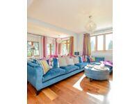 Bespoke blue velvet corner sofa