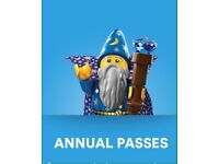 2 Annual Legoland Passes