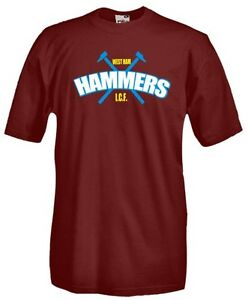 T-Shirt-girocollo-manica-corta-Supporters-T03-West-Ham-Hammers-Inter-City-Firm
