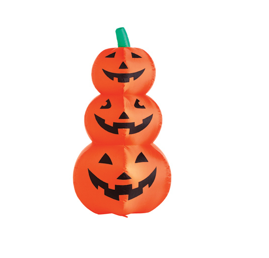 "48"" Inflatable Halloween Pumpkin"