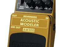Beringer Accoustic Emulator Pedal