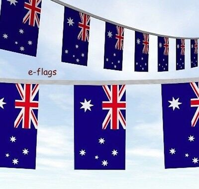 10 Metres Rugby World Cup NZ New Zealand Kiwi Flag Bunting