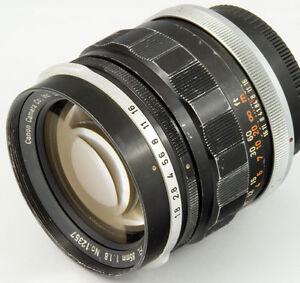 Canon 85mm F/1.8 FL FD