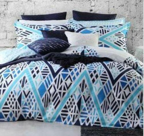 Logan Amp Mason Lillian Blue Queen Bed Quilt Cover