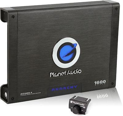 New PLANET AUDIO AC1600.4 1600W RMS 4 Channel Car Amplifier Power Amp AC16004 comprar usado  Enviando para Brazil