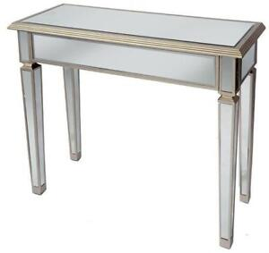 CONSOLE TABLE GLASS LOOK - MODERN LOOK THAT INSPIRE YOUR HOME (BD-834)