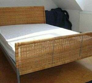 Queen Malm Bed,  Queen Sundnes Bed FOR SALE
