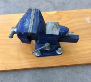 4 inch bench vice