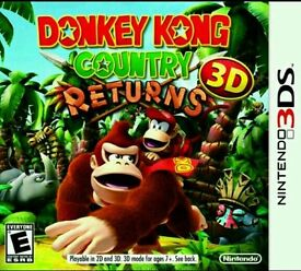 Donkey Kong Country Returns 3D for the Nintendo 3DS