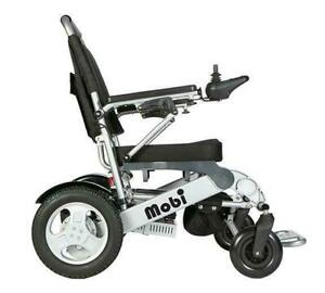 NEW - Mobi folding portable power chair from My Scooter - Travel friendly British Columbia Preview
