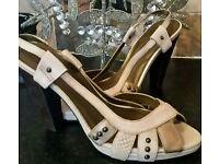 Beautiful heels, Faith size 6