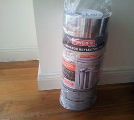 Radiator Reflector Foil Insulation Energy Saving Heat Sheet Home