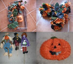 Halloween/Fall Floral Decor And Decorations
