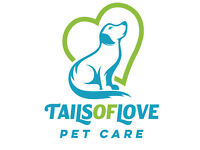 Tails of Love Pet Care. Professional Dog Walking, Dog Sitting, Pet and House Visits based in Hove