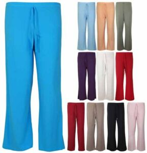 WOMENS-PLAIN-STRETCH-PALAZZO-PANTS-LADIES-WIDE-LEG-TIE-TROUSERS-PLUS-SIZE-12-30