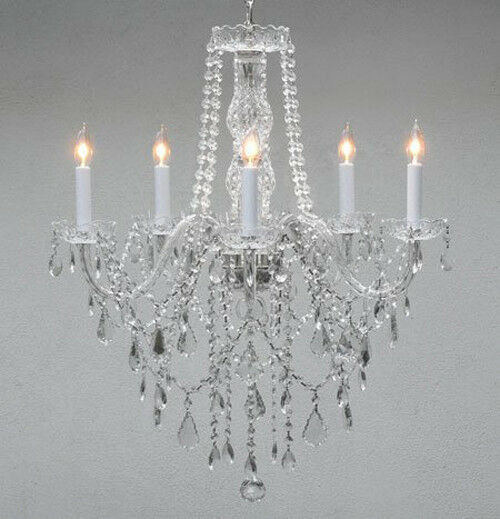 Details About Made With Swarovski Crystal Chandelier Authentic All Lighting