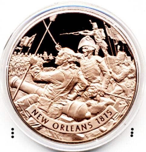 War of 1812 Battle of New Orleans Vintage 1971 Bronze Medal