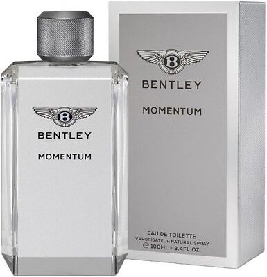 BENTLEY MOMENTUM 100ML EAU DE TOILETTE SPRAY BRAND NEW & SEALED