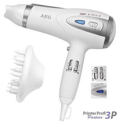 AEG HTD 5584 Profi-FOEN® Weiß | Föhn Fön Haarföhn Haarfön Haarfoen Haartrockner