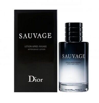 CHRISTIAN DIOR SAUVAGE 100ML AFTERSHAVE LOTION  BRAND NEW & SEALED