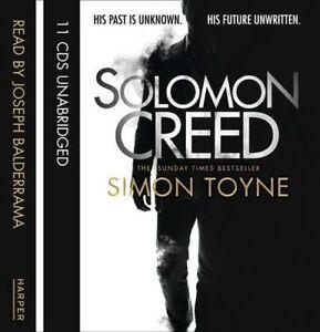 Solomon Creed, Toyne, Simon, New Book