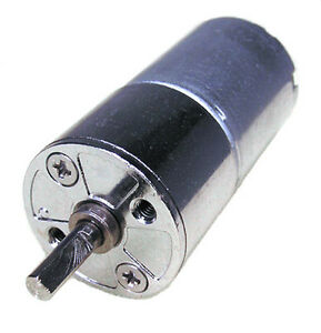 One Mini 12V DC High Torque Gear Motor 300rpm for Hobby-M25