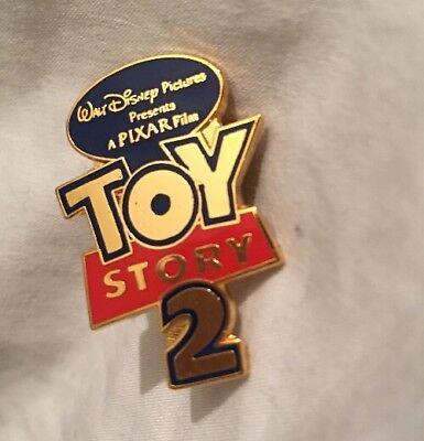 Disney Pins Studios Pixar Cast Crew Animators Member Toy Story 2 Logo Pin RARE