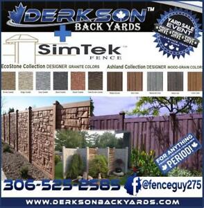 WE GOT YOUR FENCE, PERIOD!