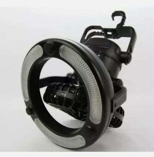 Clam Multi-Direction D/C Fan/Light. Take Anywhere.