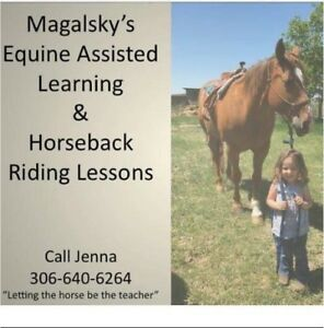 Riding lessons and Equine Assisted Learning !!!!!!!!