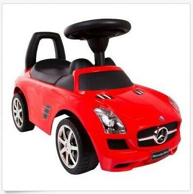 Mercedes-Benz SLS AMG  ROT  Bobby Car - NEU lizenziert