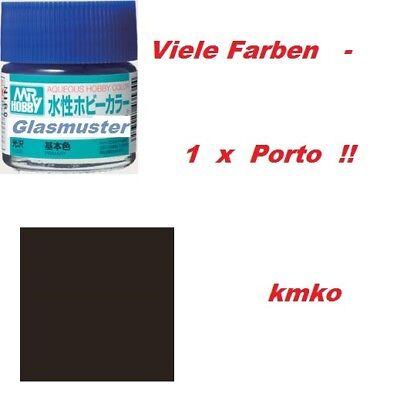 Mr.Hobby Gunze H 077 Tire Black / Reifen Schwarz Matt 10ml OVP 27,50 € / 100ml