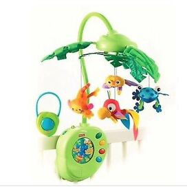Fisher Price Rainforest Peek a Boo Cot Mobile
