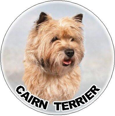 2 Cairn Terrier Car Stickers Design 1 Plain - Starprint