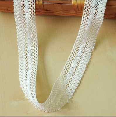 4 Yards Baumwolle Quaste Spitze Kleidung/Vorhänge/Hüte Nähen Dekorative ()