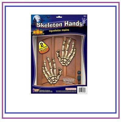 Giant Plastic Skeleton Hands Halloween Decorations Party Haunted House Props - Plastic Skeleton Hands