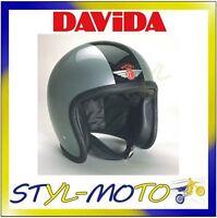 90200 Helmet Davida 90-speedster Two Tone Silver / Black Size Xl - davida - ebay.co.uk