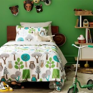 Dwell Studio Owl Sky TWIN including pillow sham and duvet cover.