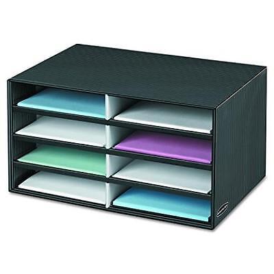 Box Decorative Literature Sorter Letter Organizer Drawer Paper Office Desk Eight