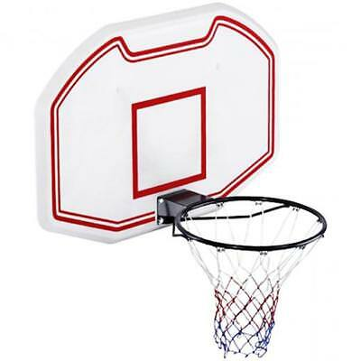 NEW! Heavy Duty Wall Mounted Full Size Basketball Backboard Hoop Net